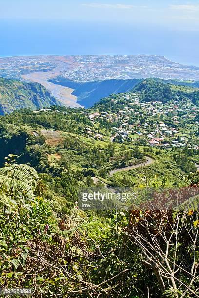 Le Port village in La Reunion Island