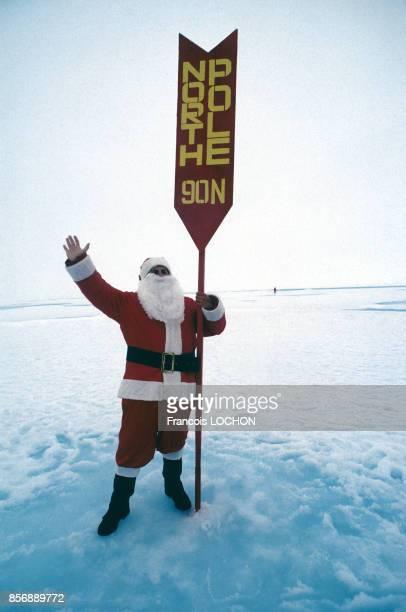 Le Père Noël au Pôle Nord en 1994