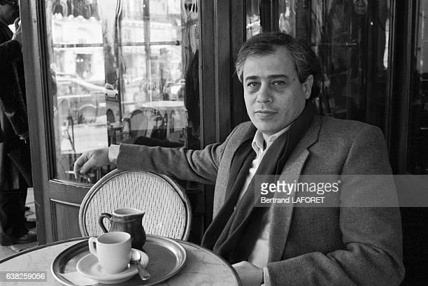 Le réalisateur libanais Borhane Alaouié à Paris France en avril 1983