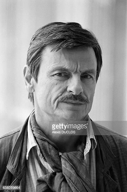 Le réalisateur soviétique Andreï Tarkovski à Paris France le 1er octobre 1985