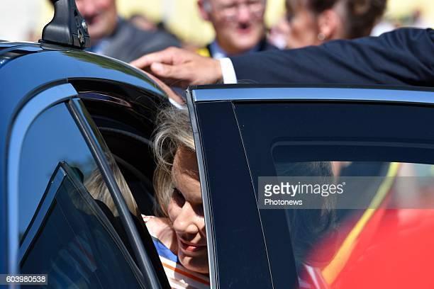 Le Roi Philippe et la Reine Mathilde visitent la Province de Luxembourg Le Roi et la Reine visiteront le centre intergénérationnel l'Auberge du...