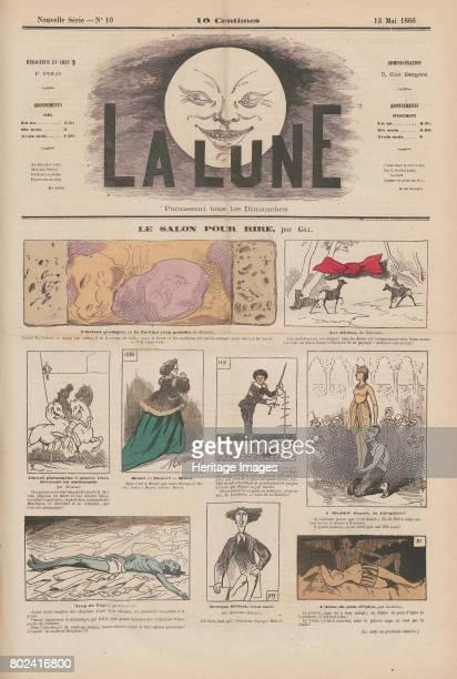 Le salon pour rire 13 May 1866 La Lune 2 1866 No 10 1866 Private Collection
