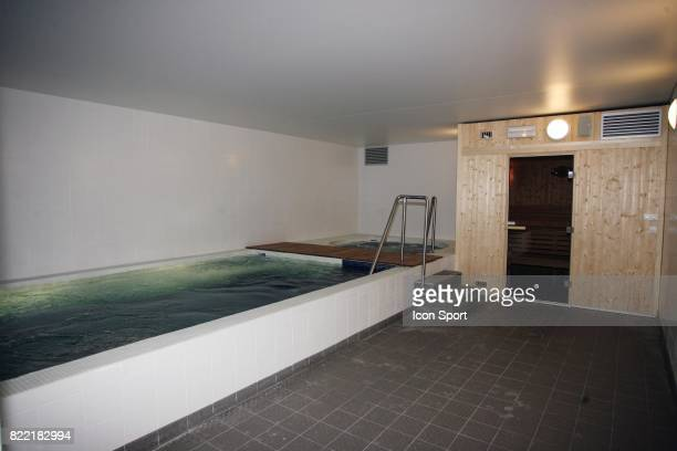 Le Sauna / Jacuzi Inauguration du Nouveau Centre d'entrainement du PSG Saint Germain en Laye Camp des Loges