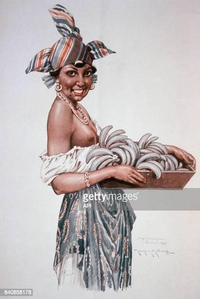 'Le Sourire' de Maurice Millière représentant une jeune femme martiniquaise
