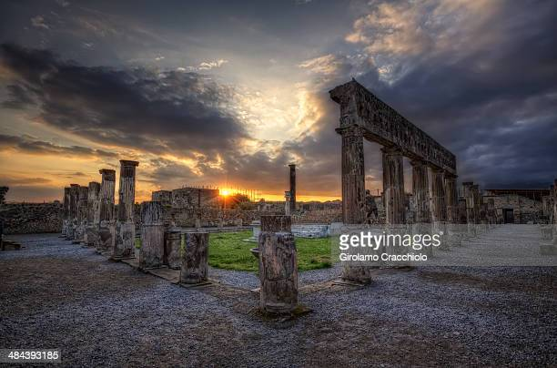 Le temple d'Apollon
