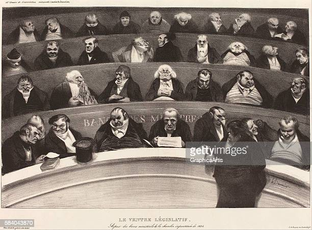 a literary analysis of le ventre legislatif by honor daumier The witty caricatures of honoré daumier his caricatures of 1834 collectively formed a controversial series he titled le ventre an analysis of one of daumier.
