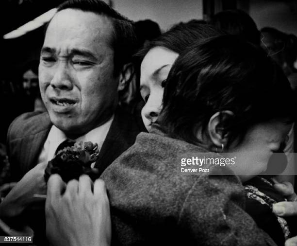 Le Xuan Thu Hoah Pham and Cac Le Xuan Thu Greets Daughter He Had Never Seen and His Wife Thu and his wife Hoah Pham were reunited Tuesday night in...