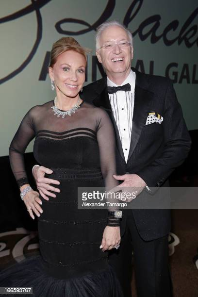 Lea Black and Roy Black attend the Blacks' Annual Gala at Fontainebleau Miami Beach on April 13 2013 in Miami Beach Florida