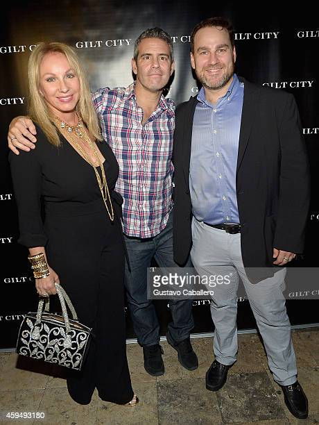 Lea Black Andy Cohen and Steven Schneider attends Gilt City Celebrates The Launch Of Andy Cohen's New Book The Andy Cohen Diaries on November 23 2014...