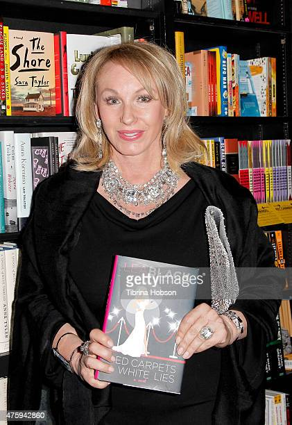 Lea Black attends her Bravo's 'Real Housewife of Miami' book signing and party on June 4 2015 in West Hollywood California