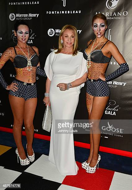 Lea Black attends The Blacks Annual Gala at Fontainebleau Miami Beach on October 25 2014 in Miami Beach Florida