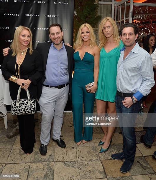 Lea BlackSteven SchneideAlexia Echevarria and Kristin Catasso attends Gilt City Celebrates The Launch Of Andy Cohen's New Book The Andy Cohen Diaries...