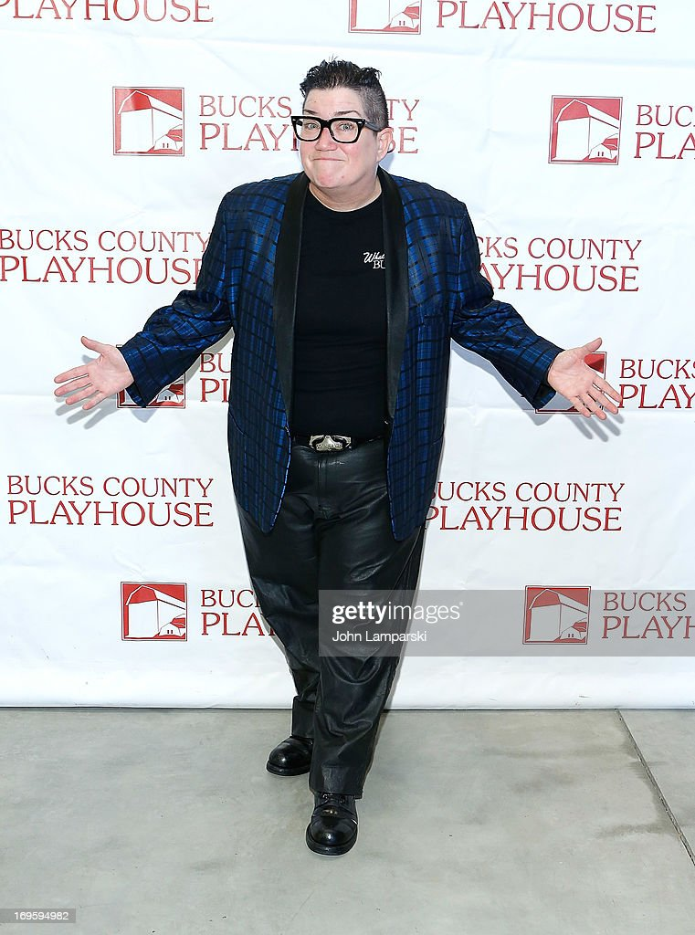 Lea DeLaria attends 2013 Bucks County Playhouse Summer Season Press Preview at Signature Theater on May 28, 2013 in New York City.