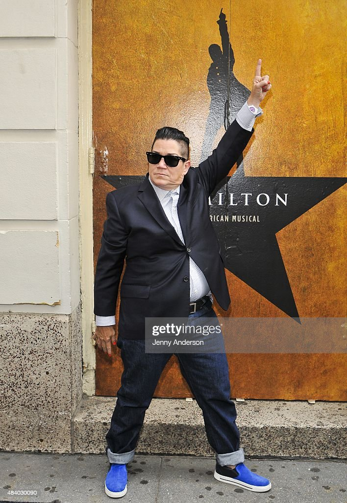 Lea DeLaria attends 'Hamilton' Broadway Opening Night at Richard Rodgers Theatre on August 6, 2015 in New York City.