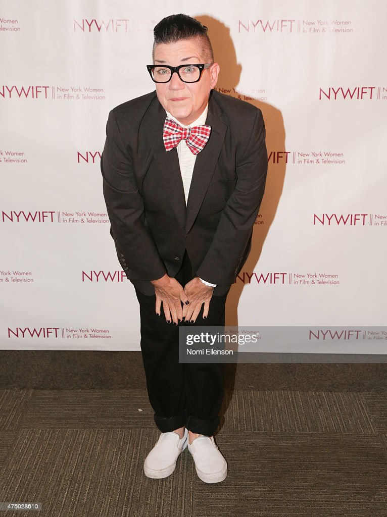Lea DeLaria attends the 2015 New York Women in Film & Television Designing Women Awards Gala at Scholastic Auditorium on May 28, 2015 in New York City.