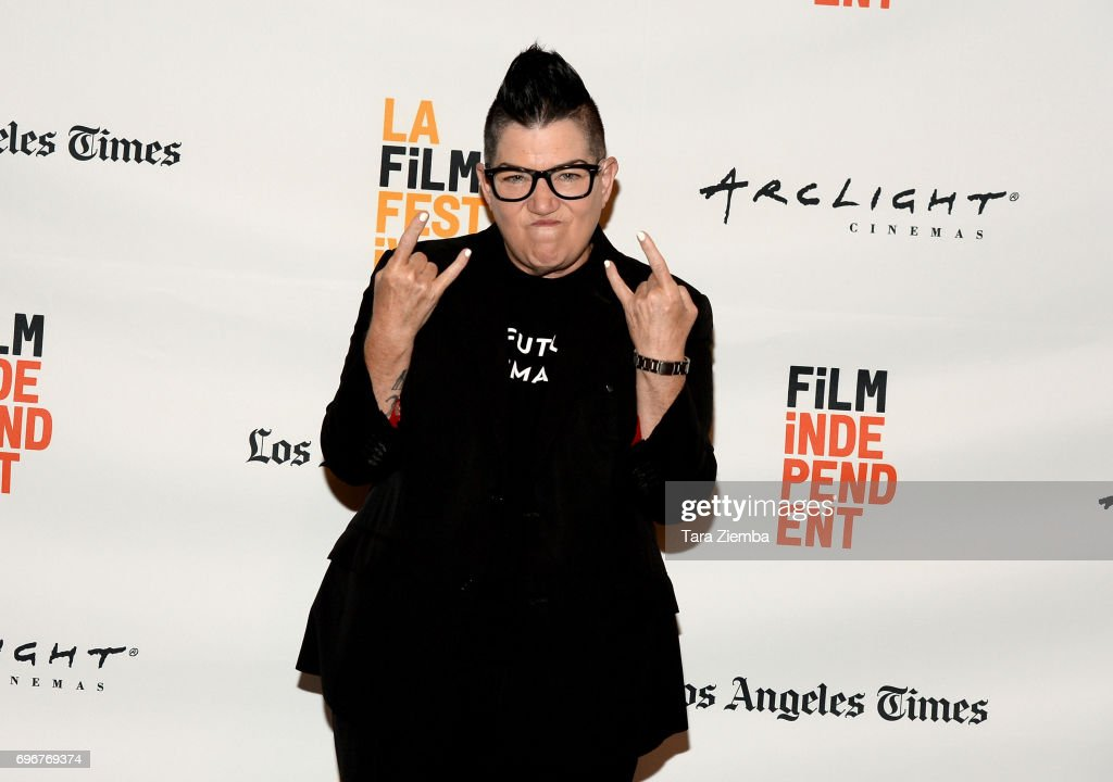 Lea DeLaria attends the 'Baroness Von Sketch' screening during 2017 Los Angeles Film Festival at Kirk Douglas Theatre on June 16, 2017 in Culver City, California.