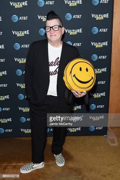Lea DeLaria attends the Vulture Festival Opening Night Party Presented By ATT at the Top of The Standard Hotel on May 19 2017 in New York City