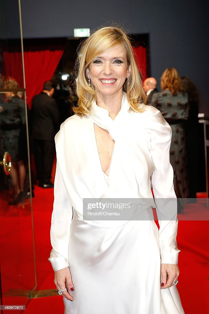 Lea Drucker arrives at the 40th Cesar Film Awards 2015 Cocktail at Theatre du Chatelet on February 20 2015 in Paris France