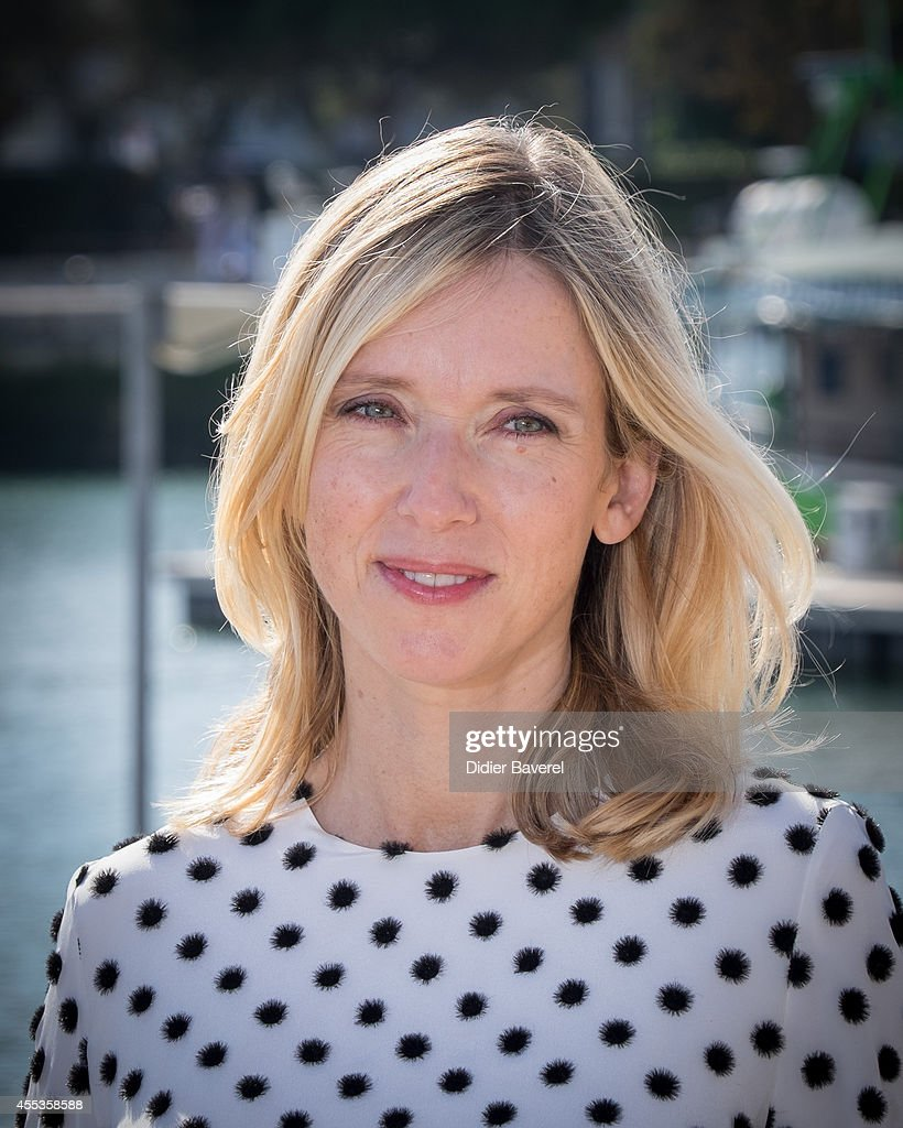 Lea Drucker attends the photocall of 'Au Nom Des Fils' as part of 16th Festival of TV Fiction of La Rochelle on September 13 2014 in La Rochelle...