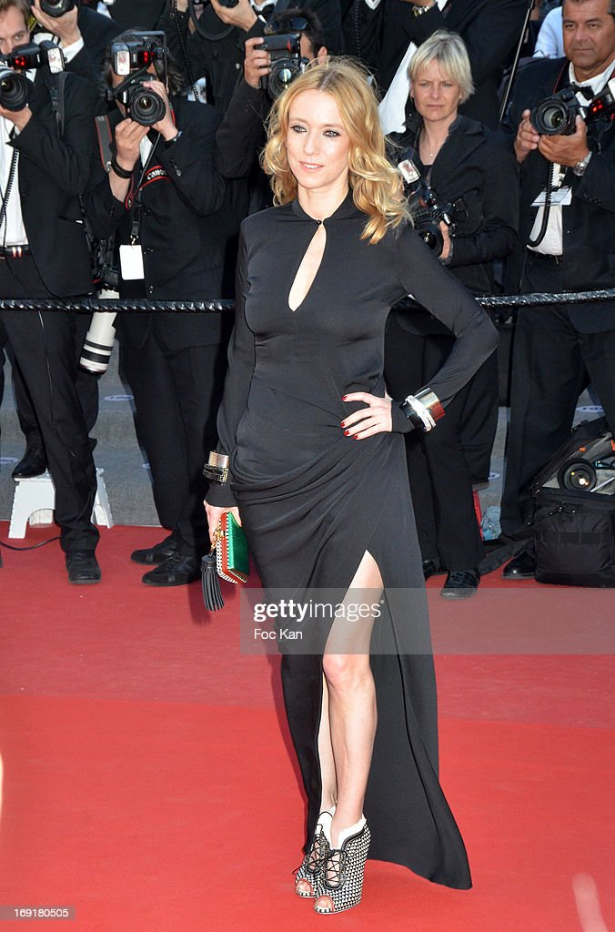 Lea Drucker attends the Premiere of 'Blood Ties' during the 66th Annual Cannes Film Festival at the Palais des Festivals on May 20, 2013 in Cannes, France.