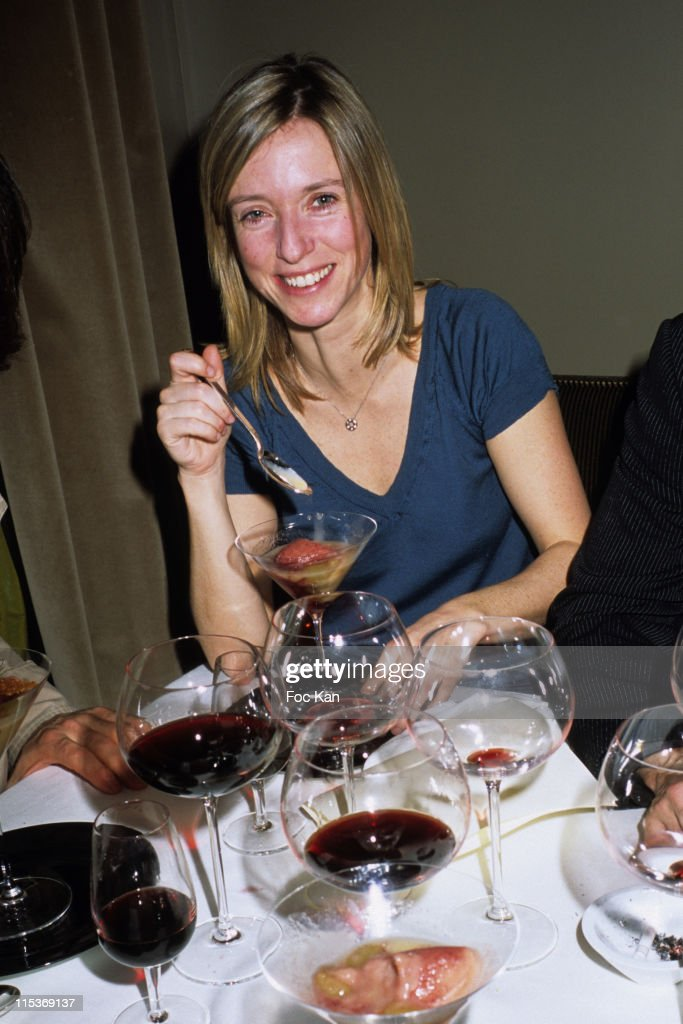 Lea Drucker during The Chateau Angelus 2005 Awards Hosted by Apiscius Restaurant at Apicius Restaurant in Paris France