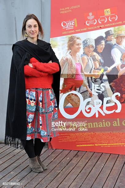 Lea Fehner attends 'Les Ogres' photocall on January 20 2017 in Rome Italy