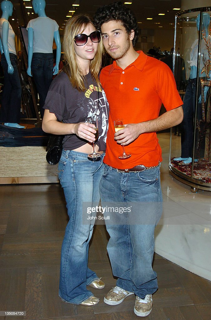 Lea Griffin and Jake Hoffman during 7 For All Mankind Denim Jeans Crystallized with Swarovski Release Party at Barneys in Beverly Hills, California, United States.