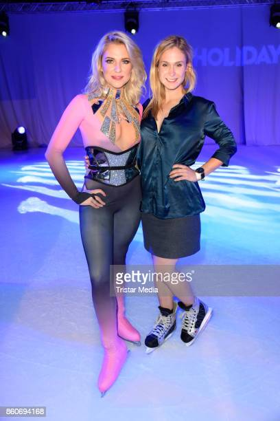 Lea Marlen Woitack and Valentina Pahde during the Holiday on Ice Season Opening 2017/18 at Volksbank Arena on October 12 2017 in Hamburg Germany