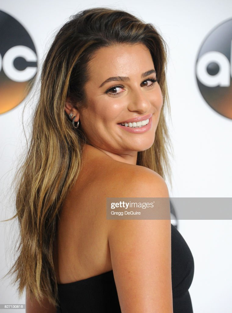 Lea Michele arrives at the 2017 Summer TCA Tour - Disney ABC Television Group at The Beverly Hilton Hotel on August 6, 2017 in Beverly Hills, California.
