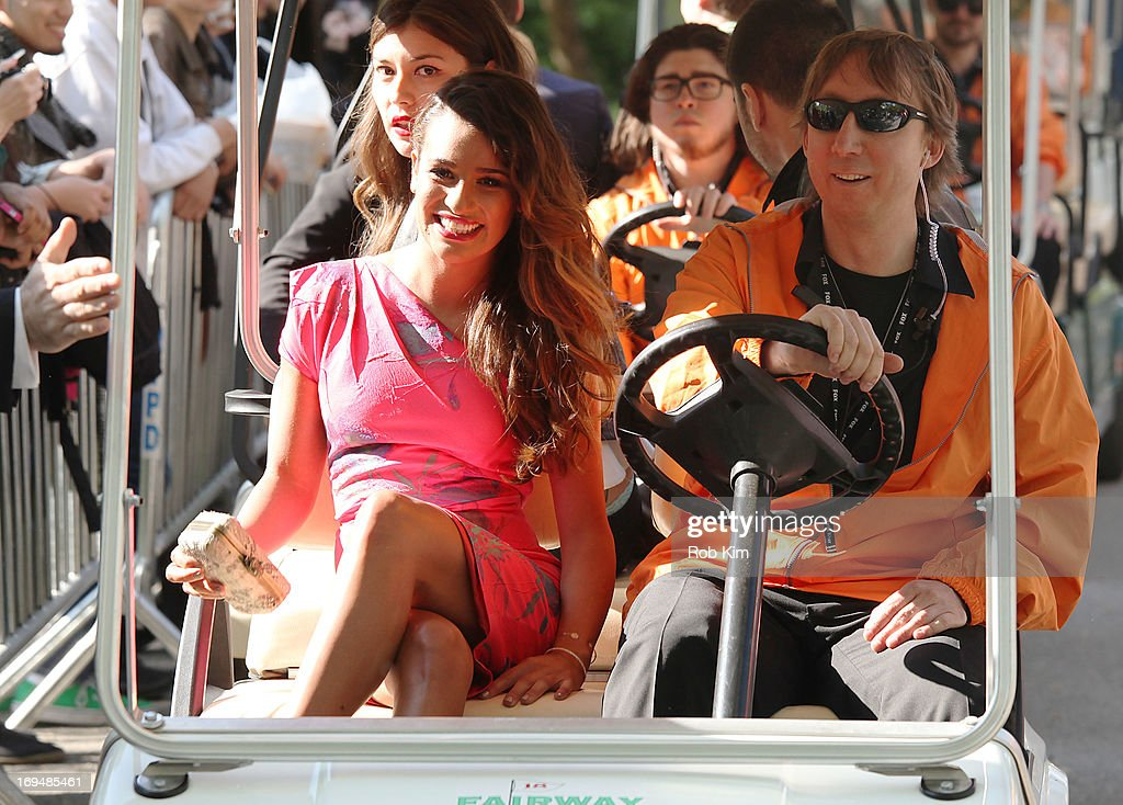 <a gi-track='captionPersonalityLinkClicked' href=/galleries/search?phrase=Lea+Michele&family=editorial&specificpeople=566514 ng-click='$event.stopPropagation()'>Lea Michele</a> attends FOX 2103 Programming Presentation Post-Party at Wollman Rink - Central Park on May 13, 2013 in New York City.