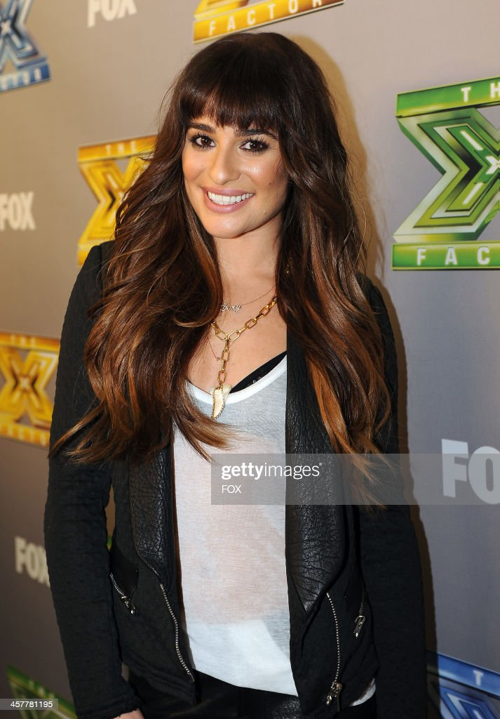 Lea Michele attends FOX's 'The X Factor' Season 3 Top 3 Live Finale Performance Show on December 18, 2013 in Hollywood, California.