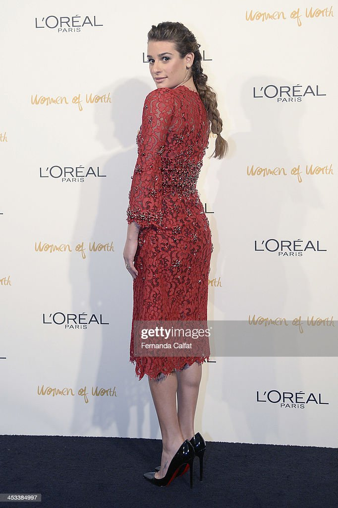 <a gi-track='captionPersonalityLinkClicked' href=/galleries/search?phrase=Lea+Michele&family=editorial&specificpeople=566514 ng-click='$event.stopPropagation()'>Lea Michele</a> attends L'Oreal Paris' Women of Worth 2013 at The Pierre Hotel on December 3, 2013 in New York City.