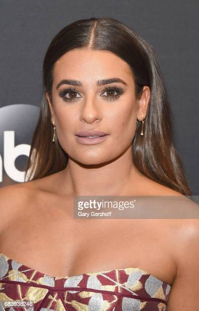 Lea Michele attends the 2017 ABC Upfront event on May 16 2017 in New York City