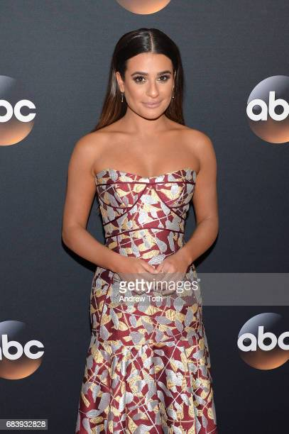 Lea Michele attends the 2017 ABC Upfront on May 16 2017 in New York City