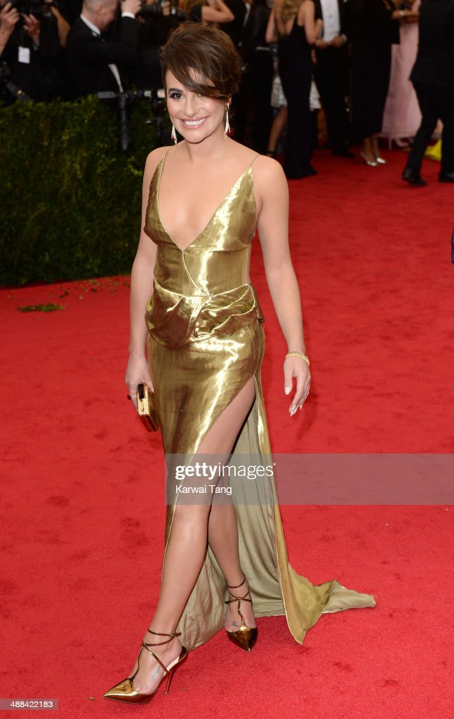 <a gi-track='captionPersonalityLinkClicked' href=/galleries/search?phrase=Lea+Michele&family=editorial&specificpeople=566514 ng-click='$event.stopPropagation()'>Lea Michele</a> attends the 'Charles James: Beyond Fashion' Costume Institute Gala held at the Metropolitan Museum of Art on May 5, 2014 in New York City.