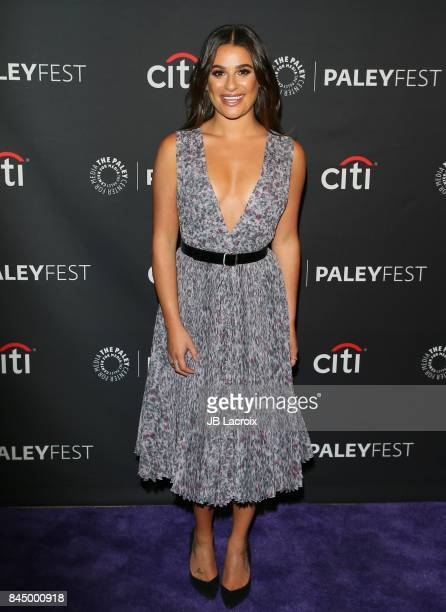 Lea Michele attends The Paley Center for Media's 11th Annual PaleyFest fall TV previews Los Angeles for ABC at The Paley Center for Media on...