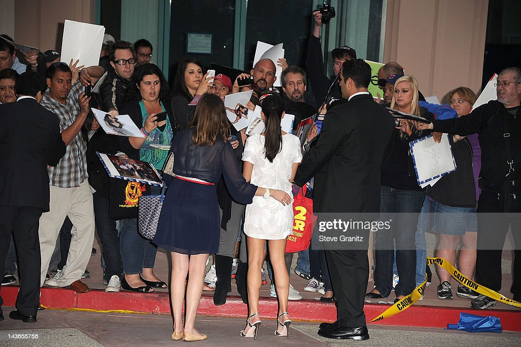 <a gi-track='captionPersonalityLinkClicked' href=/galleries/search?phrase=Lea+Michele&family=editorial&specificpeople=566514 ng-click='$event.stopPropagation()'>Lea Michele</a> attends TV Academy's special screening of 'GLEE' at Leonard H. Goldenson Theatre on May 1, 2012 in North Hollywood, California.