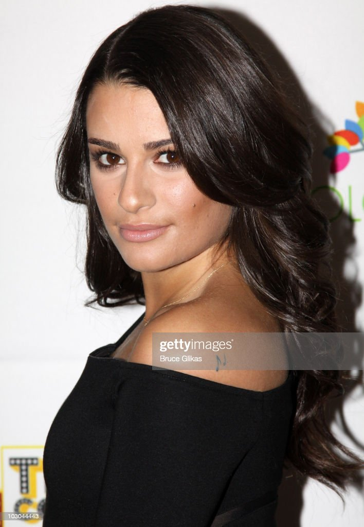 <a gi-track='captionPersonalityLinkClicked' href=/galleries/search?phrase=Lea+Michele&family=editorial&specificpeople=566514 ng-click='$event.stopPropagation()'>Lea Michele</a> poses at the 'True Colors Cabaret' presented by True Colors Tour, Broadway Impact and True Colors Fund at Feinstein's at the Regency on November 29, 2009 in New York City.