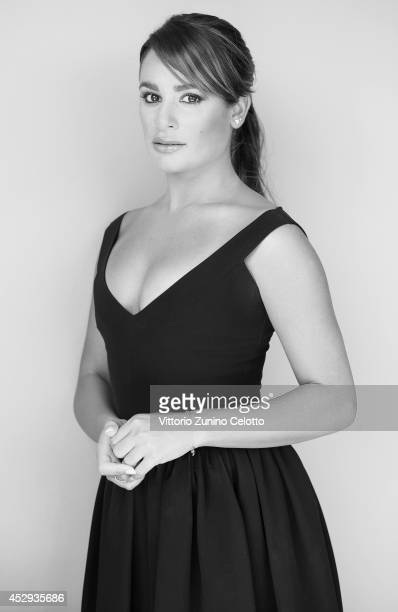 Lea Michele poses for a portrait at the Giffoni Film Festival on July 22 2014 in Giffoni Valle Piana Italy