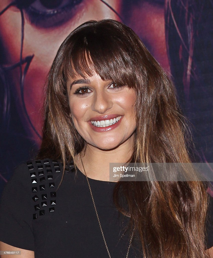 <a gi-track='captionPersonalityLinkClicked' href=/galleries/search?phrase=Lea+Michele&family=editorial&specificpeople=566514 ng-click='$event.stopPropagation()'>Lea Michele</a> promotes 'Louder' at Westfield Garden State Plaza Mall on March 3, 2014 in Paramus, New Jersey.