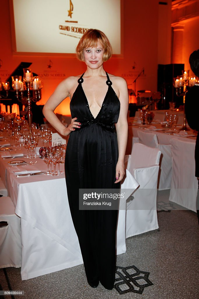 Lea Mornar attends the Moet & Chandon Grand Scores 2016 at Hotel De Rome on February 6, 2016 in Berlin, Germany.