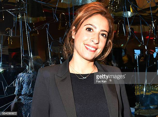 Lea Salame attends Atlantico 5th Anniversary at Cafe Campana in Musee D'Orsay on May 24 2016 in Paris France