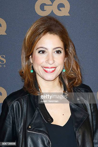 Lea Salame attends the GQ Men Of The Year Awards 2015 as part of Paris Fashion Week on January 25 2016 in Paris France