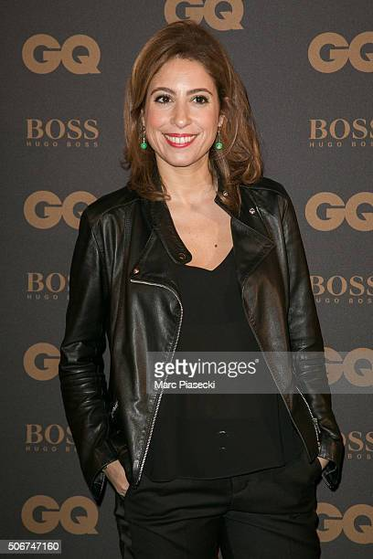 Lea Salame attends the 'GQ Men Of The Year Awards 2015' as part of Paris Fashion Week on January 25 2016 in Paris France