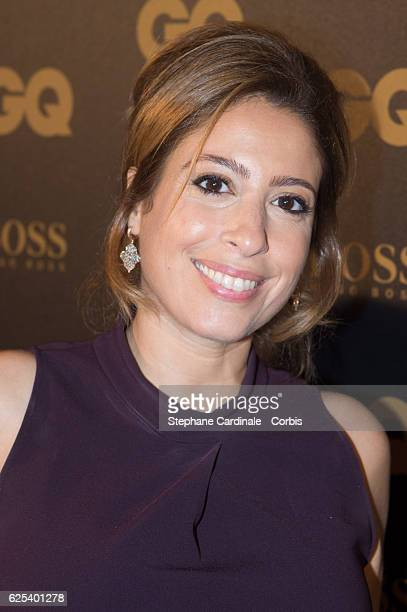 Lea Salame attends the GQ Men of the Year Awards 2016 Photocall at Musee d'Orsay on November 23 2016 in Paris France
