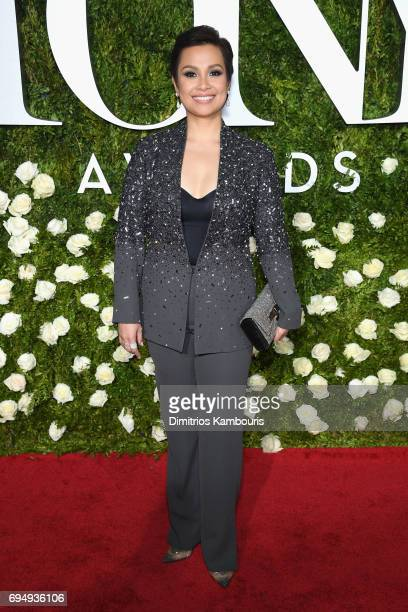 Lea Salonga attends the 2017 Tony Awards at Radio City Music Hall on June 11 2017 in New York City