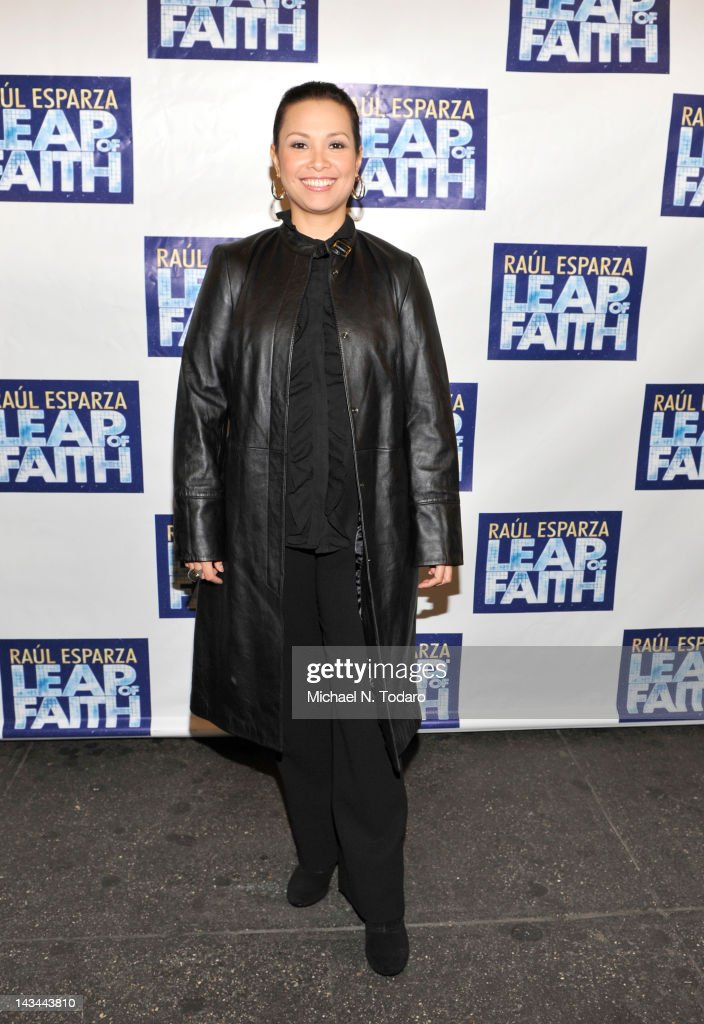 Lea Salonga attends the 'Leap Of Faith' Broadway Opening Night at St. James Theatre on April 26, 2012 in New York City.