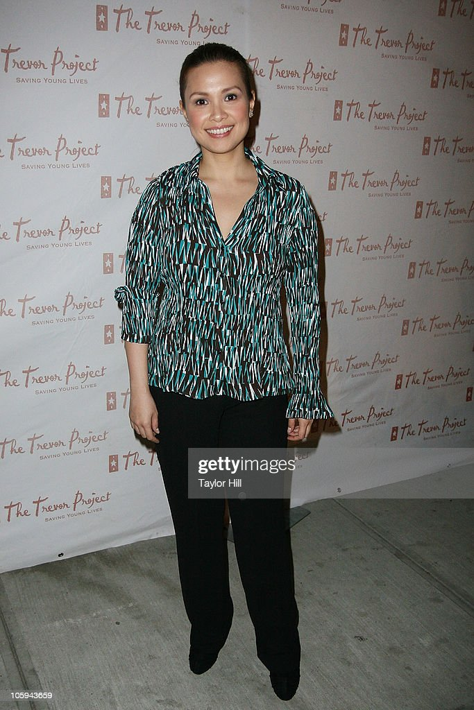 Lea Salonga attends the Trevor's Fall Fete at Theory Flagship Store on October 21, 2010 in New York City.