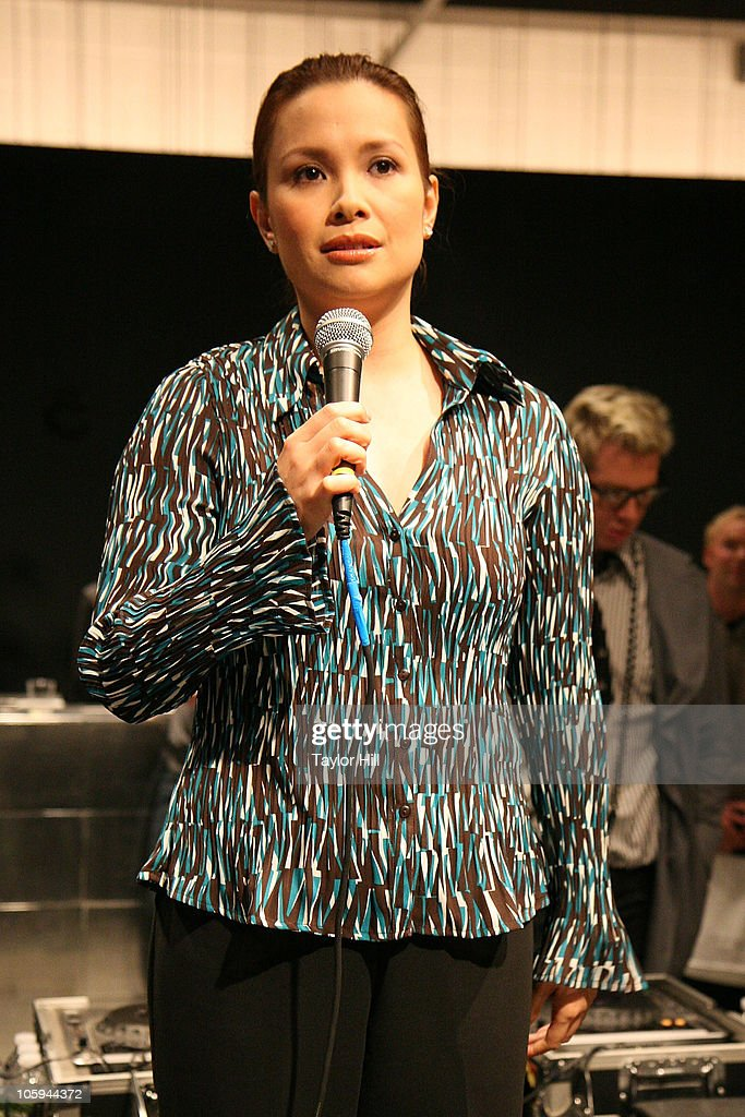 Lea Salonga performs during the Trevor's Fall Fete at Theory Flagship Store on October 21, 2010 in New York City.