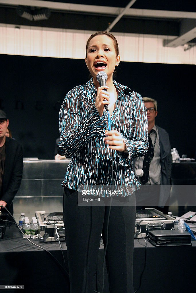 <a gi-track='captionPersonalityLinkClicked' href=/galleries/search?phrase=Lea+Salonga&family=editorial&specificpeople=2179610 ng-click='$event.stopPropagation()'>Lea Salonga</a> performs during the Trevor's Fall Fete at Theory Flagship Store on October 21, 2010 in New York City.